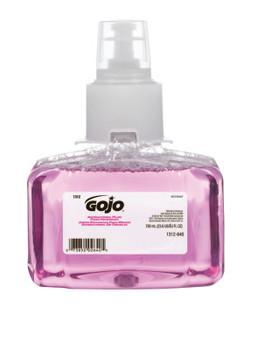 Gojo Antibacterial Plum Foam Hand Wash, Plum, LTX Bottle w/Valve, 700 mL (3 CA/EA)