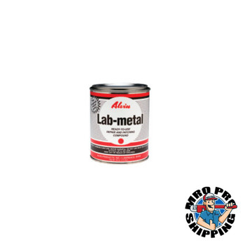 BESSEY LAB-METAL 24-OZ; 24 oz can of aluminum paste (1 EA/EA)