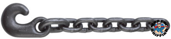 ACCO Chain Winch Line Tail Chain Assemblies, Size 7/8 in, 34,200 lb Limit, Rust Resistant (1 EA/EA)