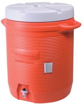 Newell Rubbermaid Water Coolers, 10 gal, Orange (1 EA/EA)