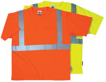 Ergodyne 8289- ECONOMY T-SHIRT- ORANGE- MEDIUM (6 CA/EA)