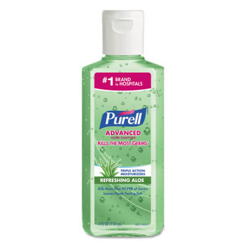 Gojo Purell Instant Hand Sanitizers with Aloe, 4 oz (24 BTL/EA)