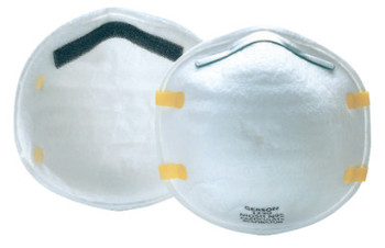 Gerson N95 Particulate Respirators, Nose and Mouth, Non-Oil Particulates (20 BX/EA)