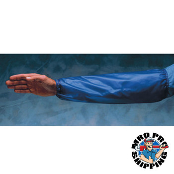 Ansell Arm Protection Sleeves, Elastic on Both Ends, One Size Fits Most, Blue/Clear (12 DZ/EA)