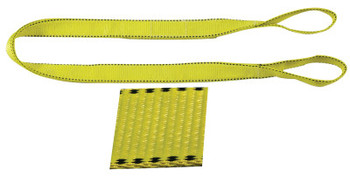 Liftex Pro-Edge Web Slings, 2 in x 10 ft, Eye To Eye, Polyester, Yellow (1 EA/EA)