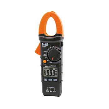 Klein Tools Digital Clamp Meters, 3 Functions, -40 to +1832 Deg F Temp Range, 20 Mohm (1 EA/EA)