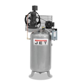 JPW Industries Vertical Air Compressors, Single Phase, 7.5 hp, 1020 rpm (1 EA/EA)