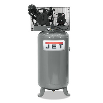 JPW Industries Vertical Air Compressors, Single Phase, 5 hp, 1190 rpm (1 EA/EA)