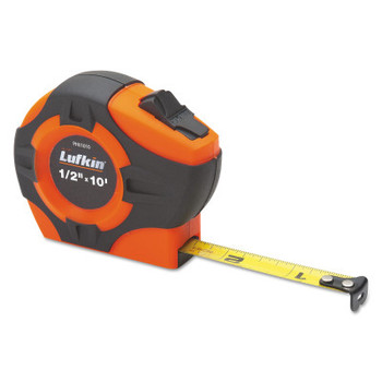 Apex Tool Group P1000 Tape Measures, 3/4 in x 12 ft, Inch, A4, Orange (1 EA/EA)