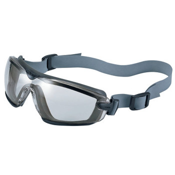 Bolle Cobra TPR Sealed Safety Goggles, CSP, Neoprene Strap, Smoke/Gray Frame (10 BX/EA)