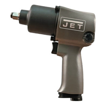 "JPW Industries R6 Series Twin Hammer Pneumatic Impact Wrench, 1/2"", 680 ft lb, Hog Ring Retainr (1 EA/EA)"