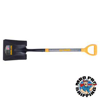 The AMES Companies, Inc. Forged Square Point Shovels with D-Top, 11 1/2 in x 9.64 in (6 BD/EA)