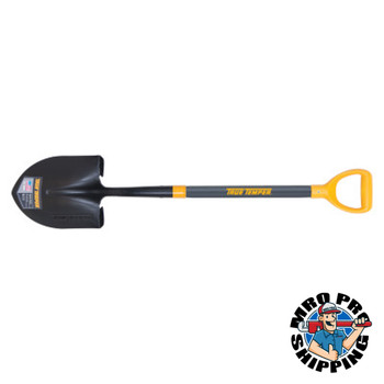 The AMES Companies, Inc. Forged Round Point Shovels with D-Top, 11 1/2 in x 9 in (1 EA/PK)