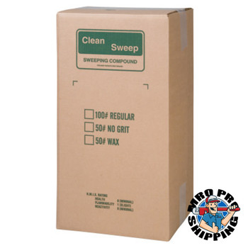 Anchor Products Wax-Based Floor Sweeping Compound, Green, 100 lbs (100 DR/EA)