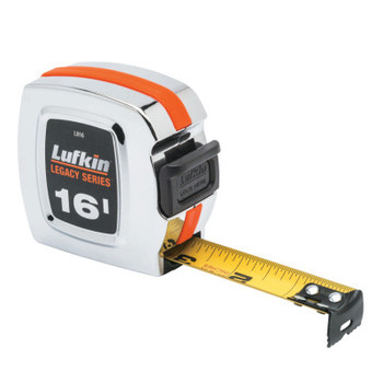 Apex Tool Group Chrome Legacy Series Measuring Tapes, 1 in x 16 ft, A5 Blade (1 EA/EA)