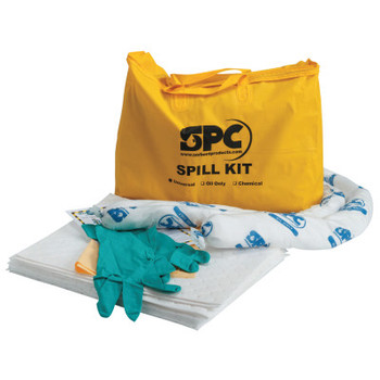 Brady SPC Economy Portable Spill Kit, Oil Only, 15 gal (1 KT/PK)