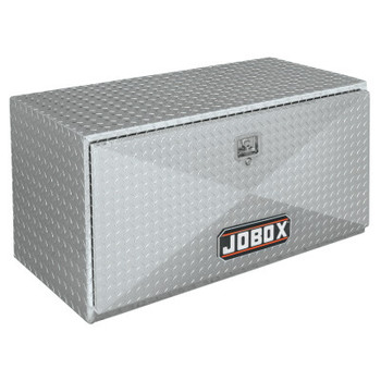 Apex Tool Group Underbed Truck Boxes, 48 in W x 18 in D x 18 in H, Aluminum, Silver (1 EA/EA)