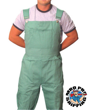 Best Welds Flame Retardant Overalls, Green, X-Large (1 EA/PK)