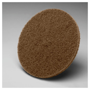 3M Scotch-Brite Hookit Cut and Polish Discs, 5 in Dia., Aluminum Oxide (40 CA/PK)