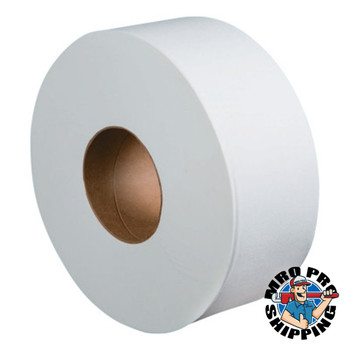 "Boardwalk Jumbo Roll Bathroom Tissue, 2-Ply, White, 3.4"" x 1000 ft (12 CT/PK)"