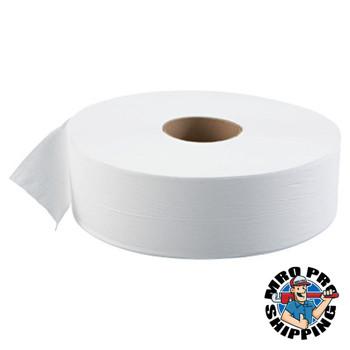 "Boardwalk JRT Bath Tissue, Jumbo, 1-Ply, 3 5/8"" x 4000ft, 12"" dia, White (6 CT/PK)"