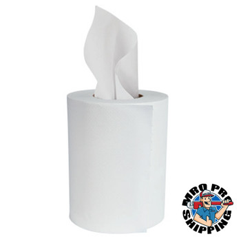 """Boardwalk Center-Pull Hand Towels, 2-Ply, Perforated, 7 7/8"""" x 10"""", 360/Roll (6 CT/PK)"""