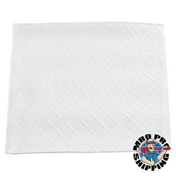 "Boardwalk Beverage Napkins, 1-Ply, 9 1/2"" x 9"", White (1 CT/PK)"