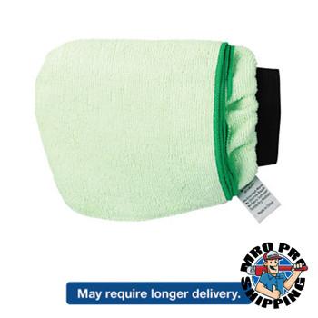 Boardwalk Grip-N-Flip 10 Sided Microfiber Mitt, 7 x 6, Green (12 EA/EA)