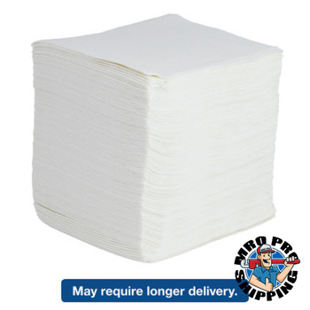 Boardwalk DRC Wipers, White, 12 x 13, 12 Bags of 90 (1 CT/EA)