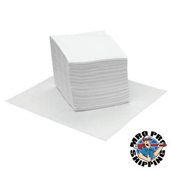 Boardwalk DRC Wipers, White, 12 x 13, 18 Bags of 56 (1 CT/EA)