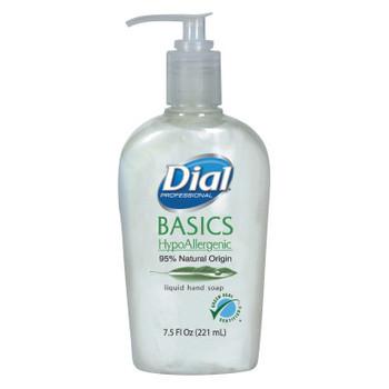 DIAL PROFESSIONAL Basics Liquid Hand Soap, 7.5 oz, Rosemary & Mint (12 CT/EA)