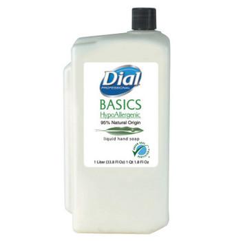 DIAL PROFESSIONAL Basics Liquid Hand Soap, Rosemary & Mint, 1000mL Refill (8 CT/EA)