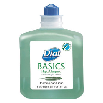 DIAL PROFESSIONAL Basics Foaming Hand Wash, Refill, 1000mL, Honeysuckle (6 CT/EA)