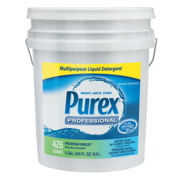 PUREX Concentrate Liquid Laundry Detergent, Mountain Breeze, 5 gal. Pail (1 EA/EA)