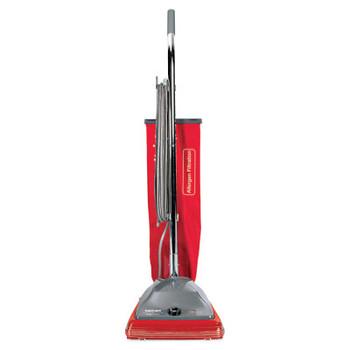 Eureka Commercial Standard Upright Vacuum, 19.8lb, Red/Gray (1 EA/EA)