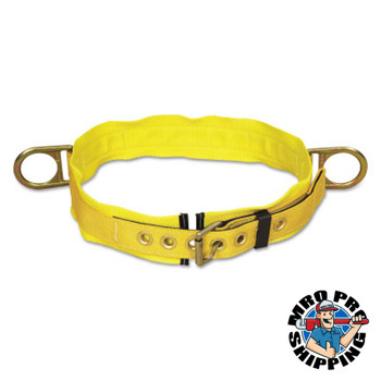 Capital Safety Tongue Buckle Body Belts, Side D-Rings, 2X-Large (1 EA/PK)