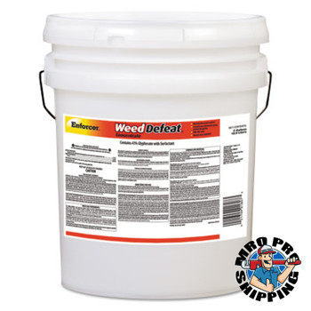Zep Inc. Weed Defeat Concentrate, 5 gal, Plastic Container (5 PA/EA)