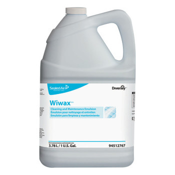 Diversey Wiwax Cleaning & Maintenance Emulsion, Liquid, 1 gal Bottle (4 CT/EA)