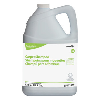 Diversey Carpet Shampoo, Floral, 1gal Bottle (4 CT/EA)
