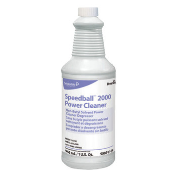 Diversey Speedball 2000 Heavy-Duty Cleaner, Citrus, Liquid, 1qt. Spray Bottle (12 CT/EA)