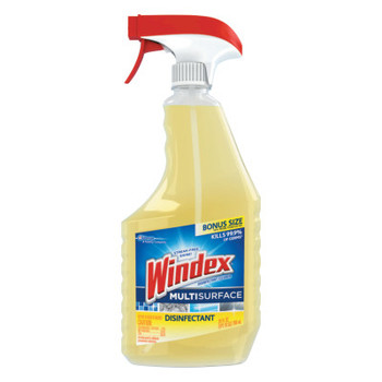 Diversey Antibacterial Multi-Surface Cleaner, Lemon Scent, 26 oz Spray Bottle (8 CT/EA)