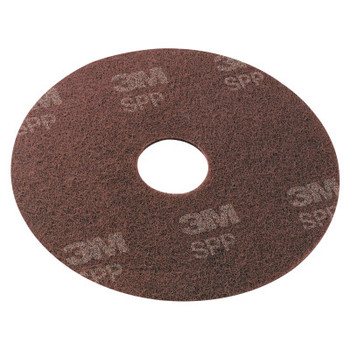 "3M Surface Preparation Pad, 20"" Diameter, Maroon (10 CT/EA)"
