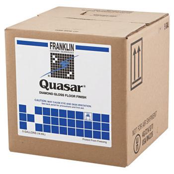 Franklin Quasar High Solids Floor Finish, 5gal Box (1 EA/EA)