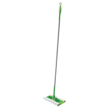 "Procter & Gamble Sweeper Mop, 10"" Wide Mop, Green (3 CT/EA)"