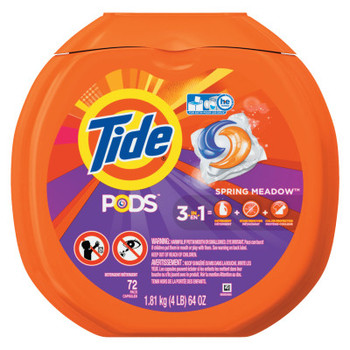 Procter & Gamble Detergent Pods, Spring Meadow Scent (4 CT/EA)