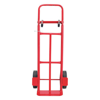 Safco Two-Way Convertible Hand Truck, 500-600lb Capacity, 18w x 51h, Red (1 EA/CA)