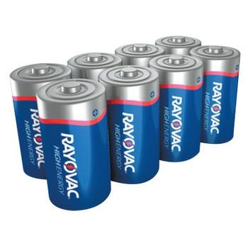 Rayovac FUSION Advanced Alkaline Batteries, C, 1.5 V (56 CA/CA)
