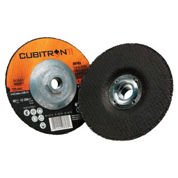 3M Cubitron II Cut & Grind Wheel, 4 1/2 in Dia, 1/8 in Thick, 7/8 in Arbor (10 BX/EA)