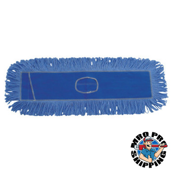 Boardwalk Mop Head, Dust, Looped-End, Cotton/Synthetic Fibers, 24 x 5, Blue (1 EA/CA)