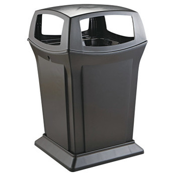 Newell Rubbermaid Ranger Fire-Safe Container, Square, Structural Foam, 45gal, Black (1 EA/EA)